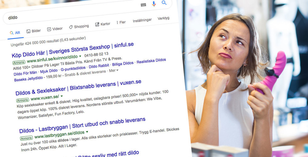 """Google-ras för e-handlare som säljer sexleksaker: """"Butiker kommer tvingas stänga"""""""