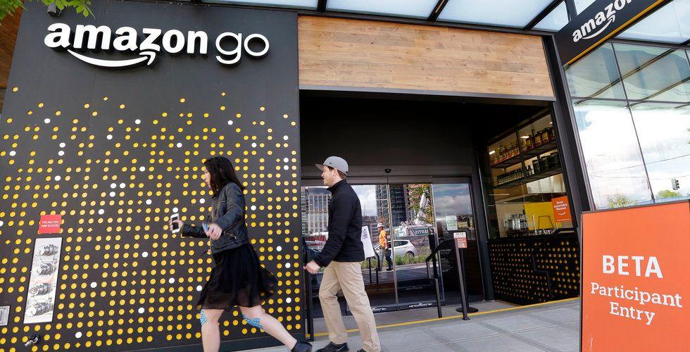 Breakit - Idag lanserar Amazon sin automatiska mataffär Amazon Go