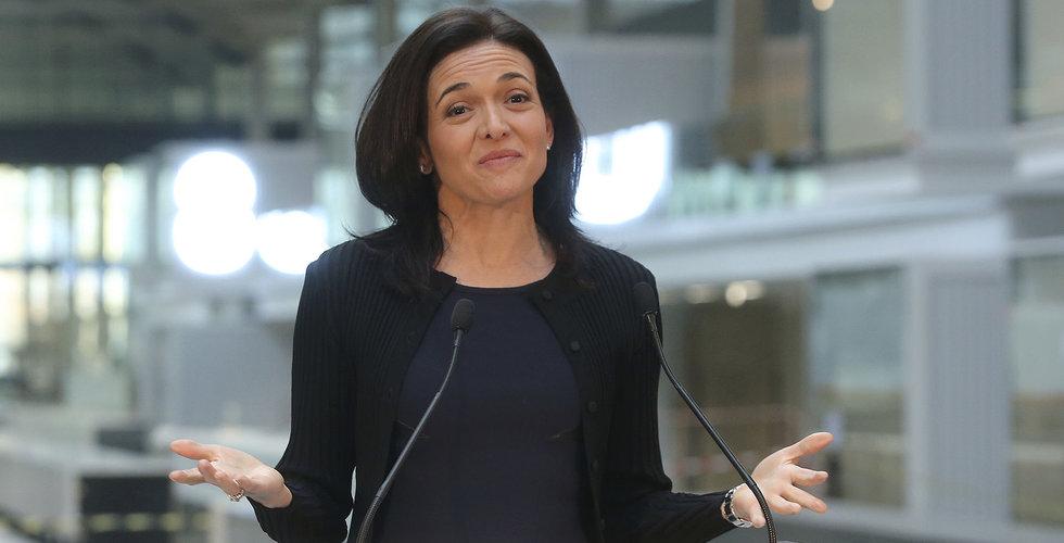 Sheryl Sandberg ville veta om finansman blankat Facebookaktien