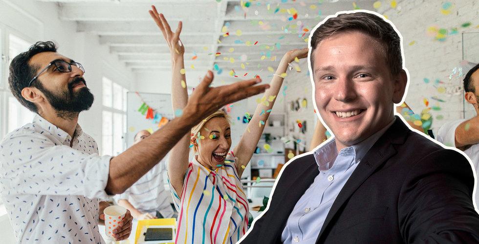 """Bank-vd:n om kärleken till entreprenörerna: """"Ingen PR-grej"""""""