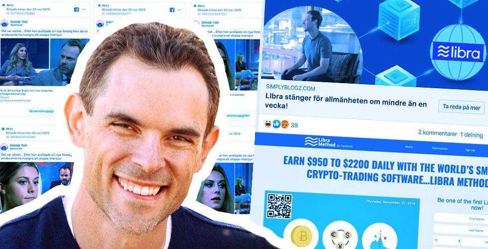 Efter kändisbedrägerierna – Facebook lovar att jaga skurkarna på egen hand