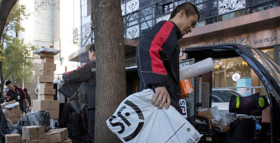 Alibaba slog rekord under shoppingfesten – missade förväntningarna