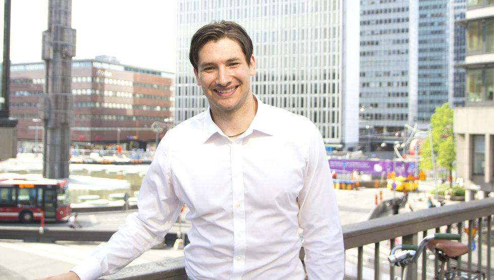 Alexander Pärleros nya satsning – dragit igång hemligt app-projekt