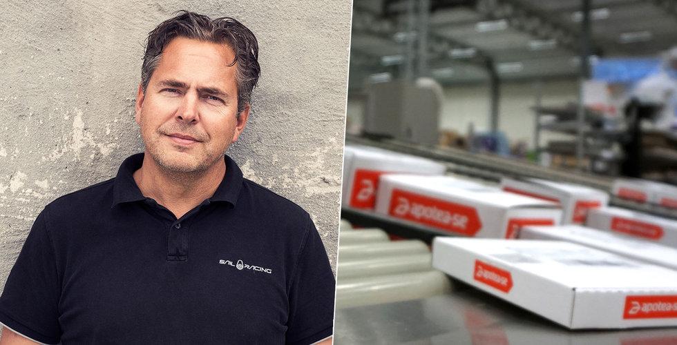 """Hårt tryck på Apotea  – """"lånar"""" personal från krisande företag"""