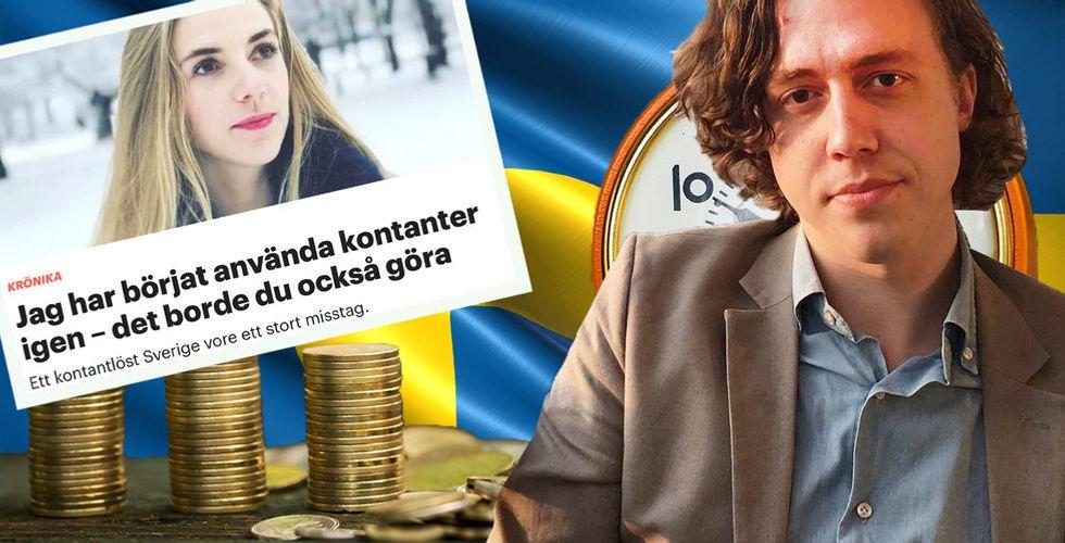 """""""Sverige bygger på innovation – att överge kontanter är ett naturligt steg"""""""