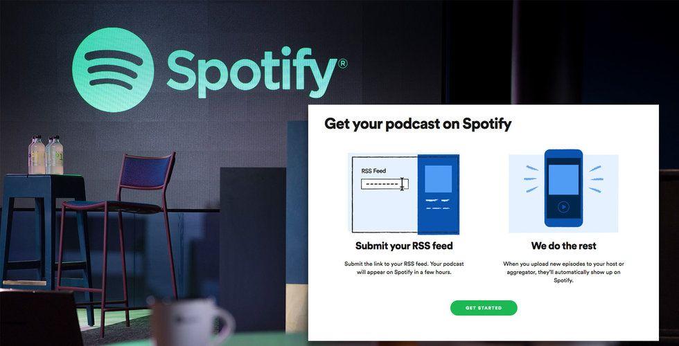 Släppa en podcast på Spotify? Snart är det möjligt