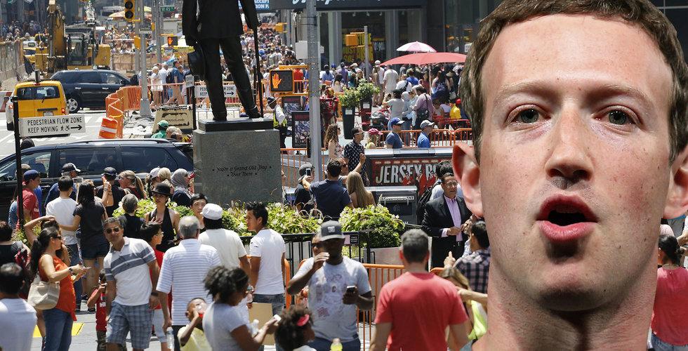 """Breakit - Facebooks """"räckvidd"""" i USA: 25 miljoner högre än befolkningen"""