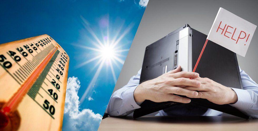 E-handeln svettas i värmen – 10-15 procent sämre än väntat