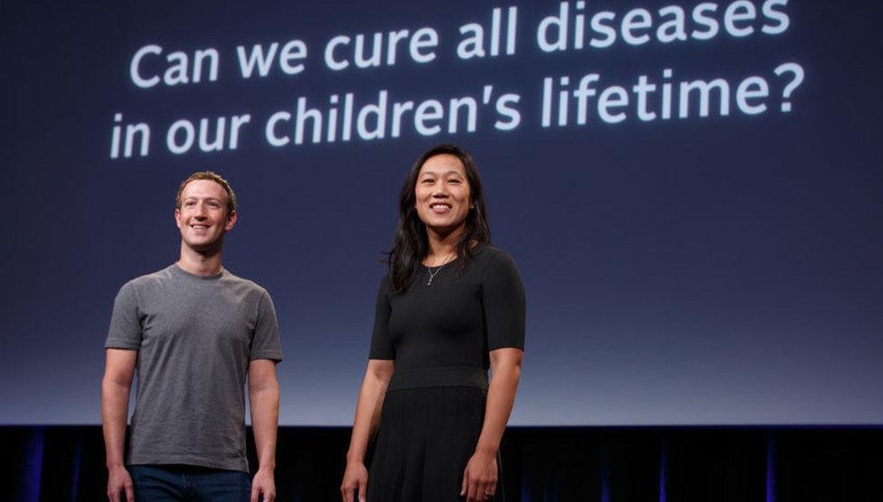 Breakit - Zuckerberg investerar 25 miljarder för att bota sjukdomar