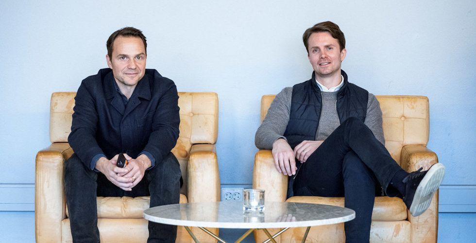 Pål Hodann och Nils Bergman  har 500 miljoner kronor i fickan – nu ska Nordtech shoppa (ocoola) SaaS-bolag