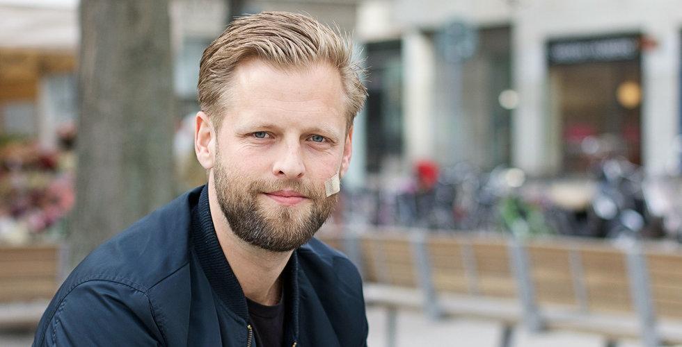 """Han pitchade sin startup för 70 investerare: """"Krävs lite pannben"""""""