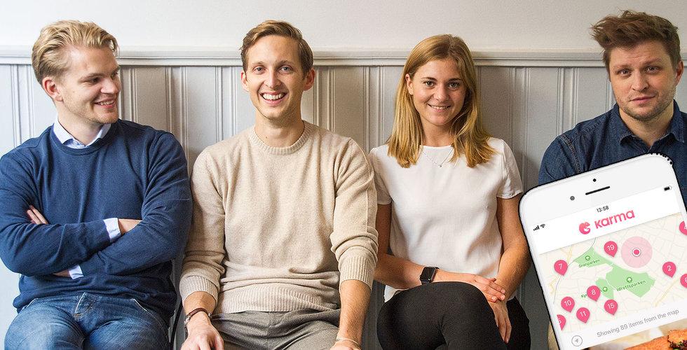 Karma ska göra britterna matsmarta – lanserar appen i London