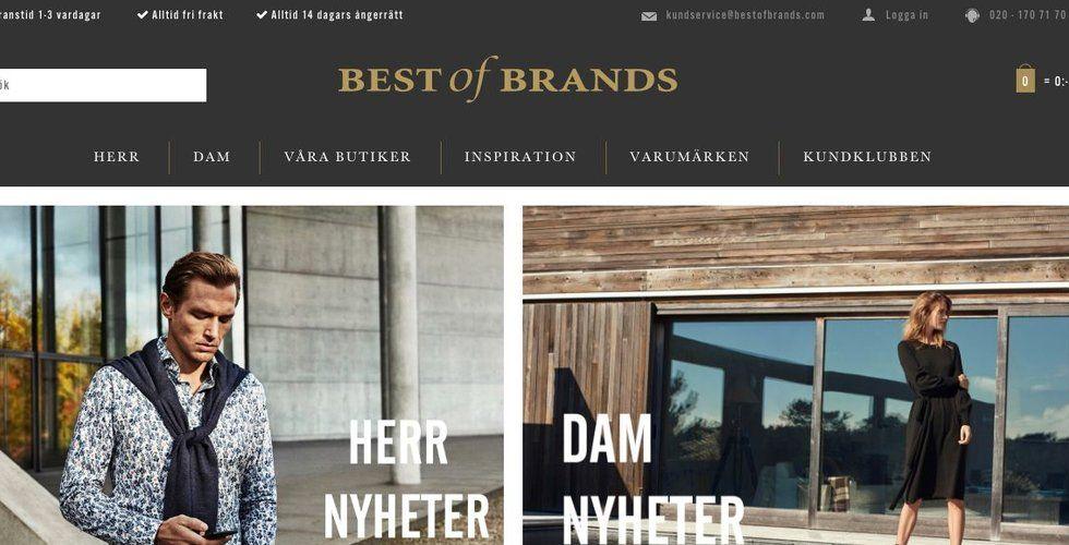 Breakit - Klädkedjan Best of Brands har slut på pengar – butiker behöver stängas