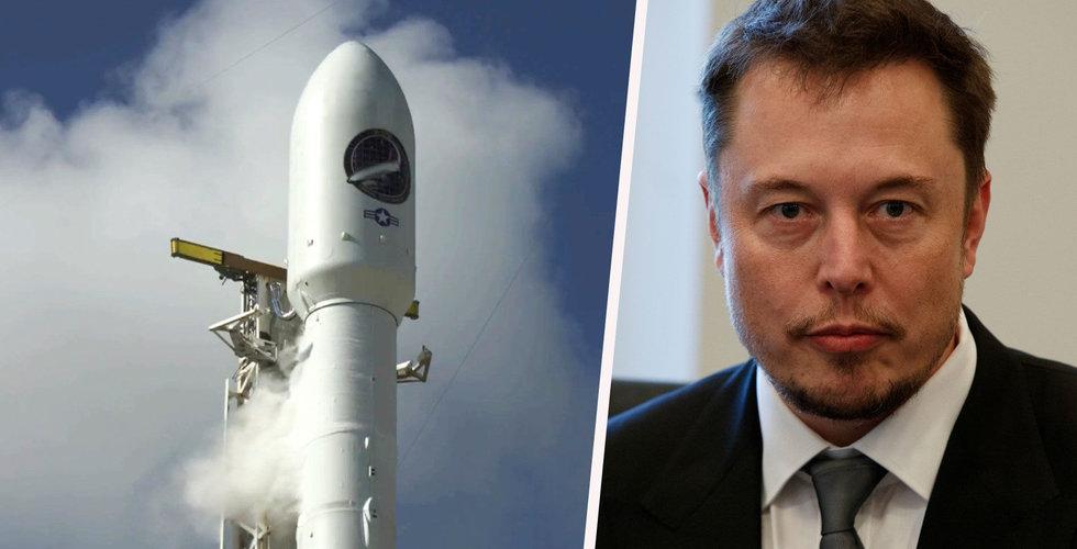 Spionsatellit som sköts upp med SpaceX-raket tros ha förstörts