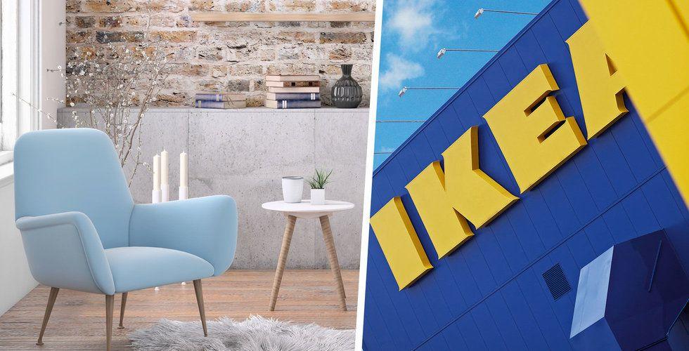 Ikeas nya satsning – börjar hyra ut möbler i Sverige