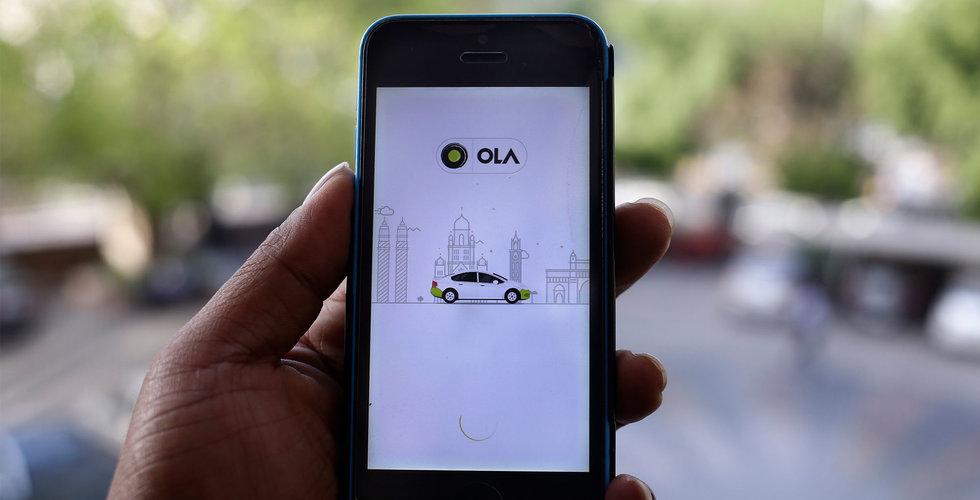 Indiska taxiappen Ola lanserar i London