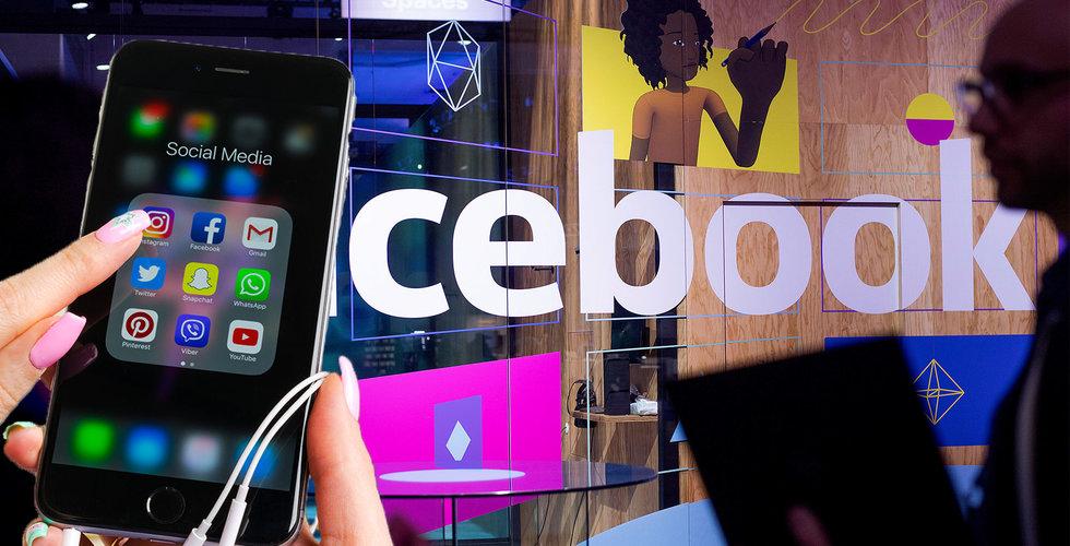 Facebook rusade direkt – 12 procent upp