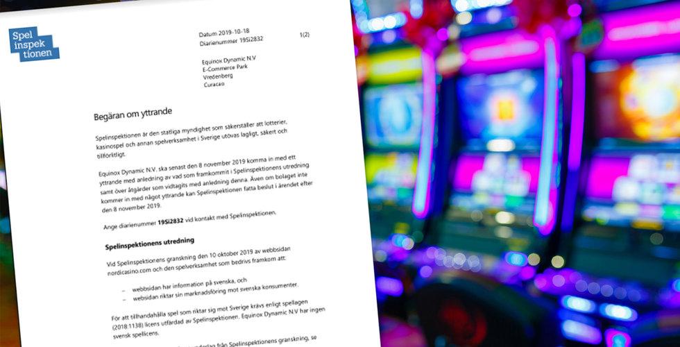 Kasinosajter utan licens lockar svenskar – nu kräver Spelinspektionen svar