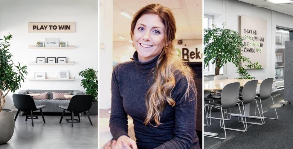 Fixa snyggaste startup-kontoret med klimatsmart inredning