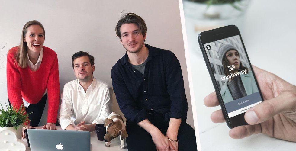"""Washaway ska digitalisera tvättstugan med app och tvättbud: """"Marknaden är mogen"""""""