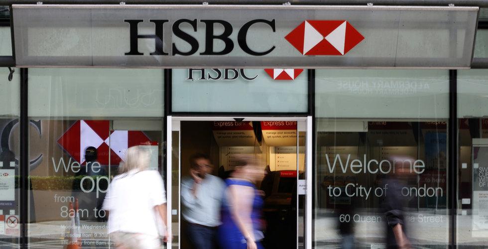HSBC kan dra ned med upp emot 10 000 jobb
