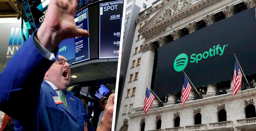 Spotifys notering kan få NYSE att ändra reglerna
