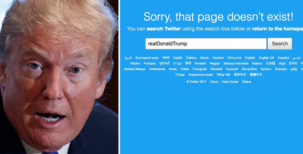 Breakit - Sista dagen på jobbet – då raderade hen Donald Trumps twitterkonto