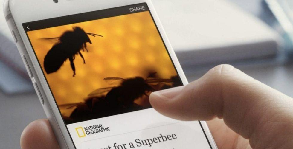 Breakit - Nu öppnar Facebook tjänsten Instant Articles för alla medier