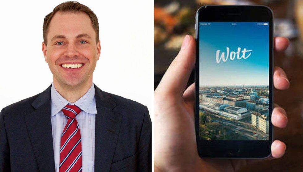 NFT-backade redovisningsbyrån Slipp till Finland ihop med Wolt