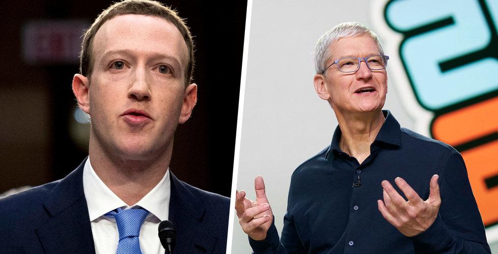 """Zuckerberg kritiserar Apple: """"Har ett unikt strypgrepp"""""""