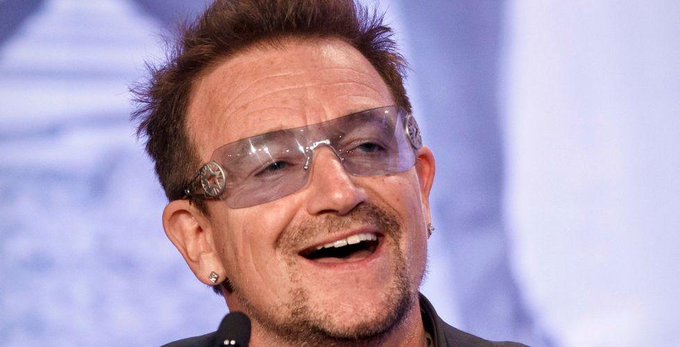Bono säljer Facebook-aktier - tjänar 365 miljoner kronor