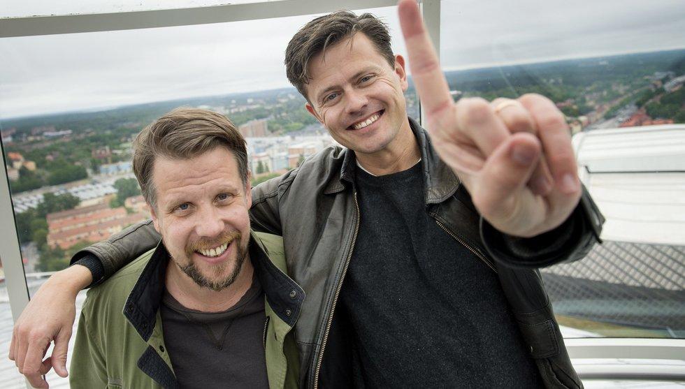 Breakit - Filip och Fredrik skriver på för poddplattformen Acast