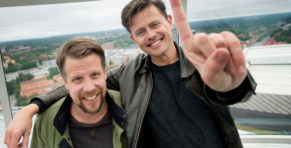 Filip och Fredrik skriver på för poddplattformen Acast