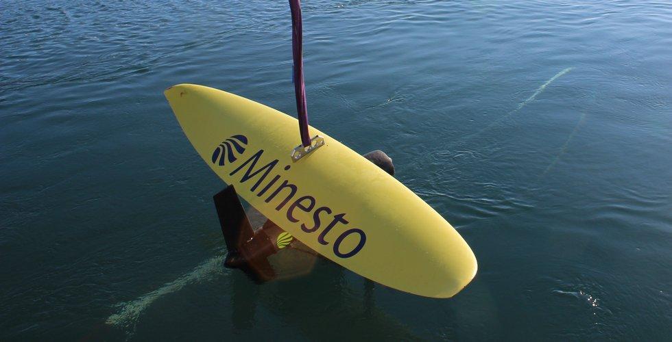 Minesto får in 160 miljoner till sin undervattensdrake