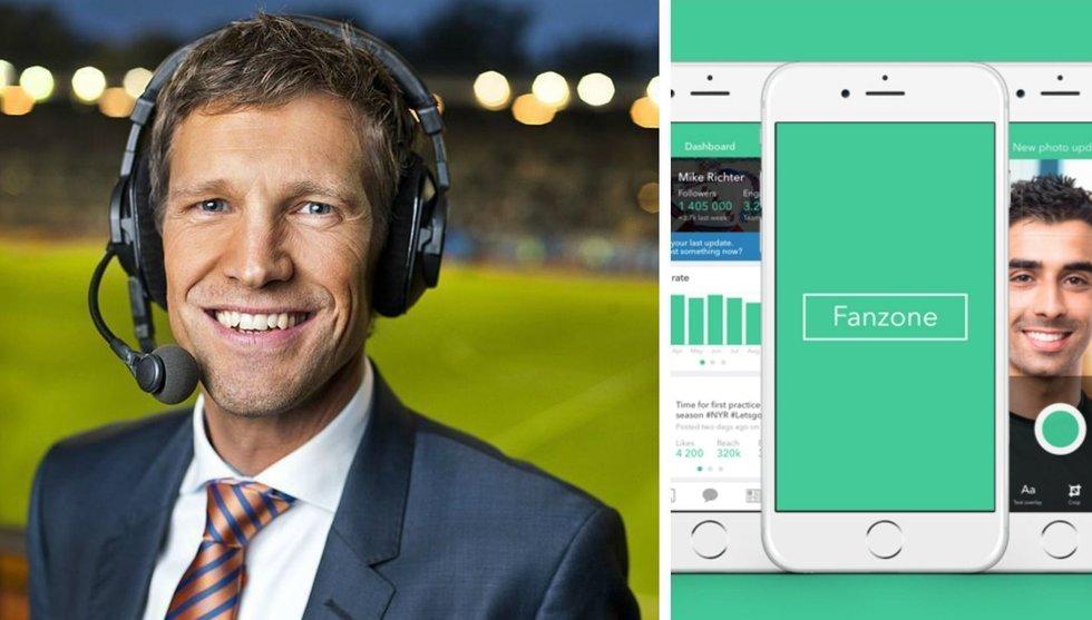 Breakit - Jens Fjellström har investerat i nya sportappen Fanzone