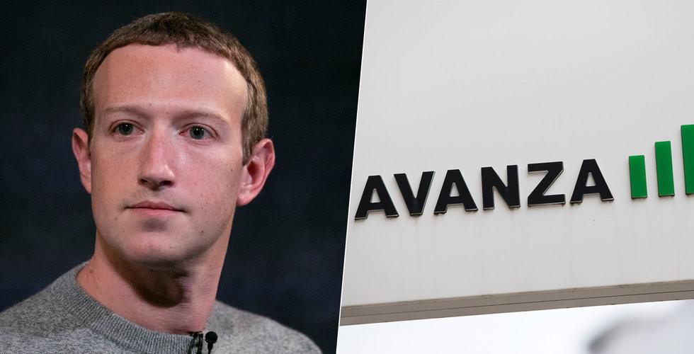 Facebook startar utredning efter Avanza-läckan