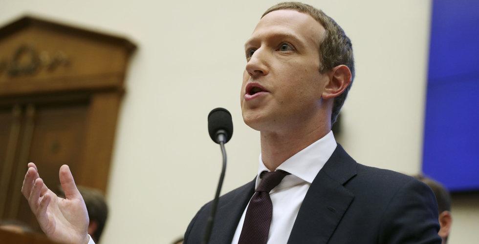 Mark Zuckerberg grillades över Libra