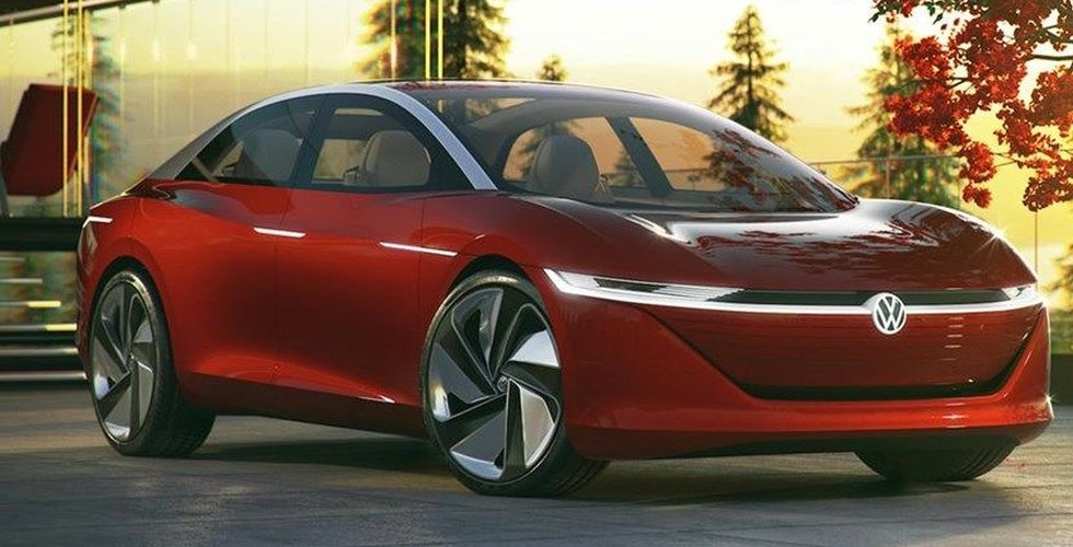 Då kommer Volkswagens nya elbil I.D. Vizzion