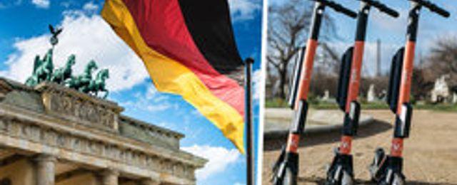 Voi rullar in i Tyskland – som första elscooter i landet