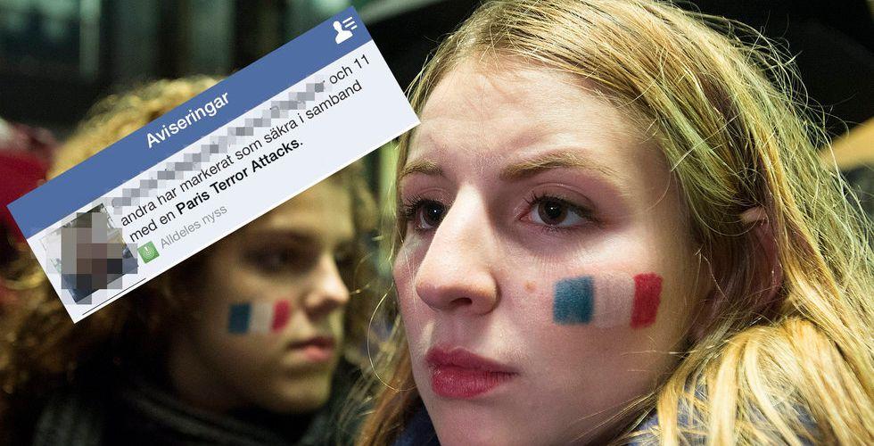 Terrorattackerna i Paris – så gör Facebook för att hjälpa till