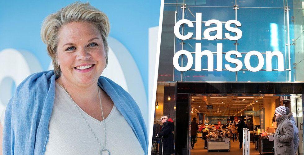 Clas Ohlsons försäljning i november ökade med 4 procent