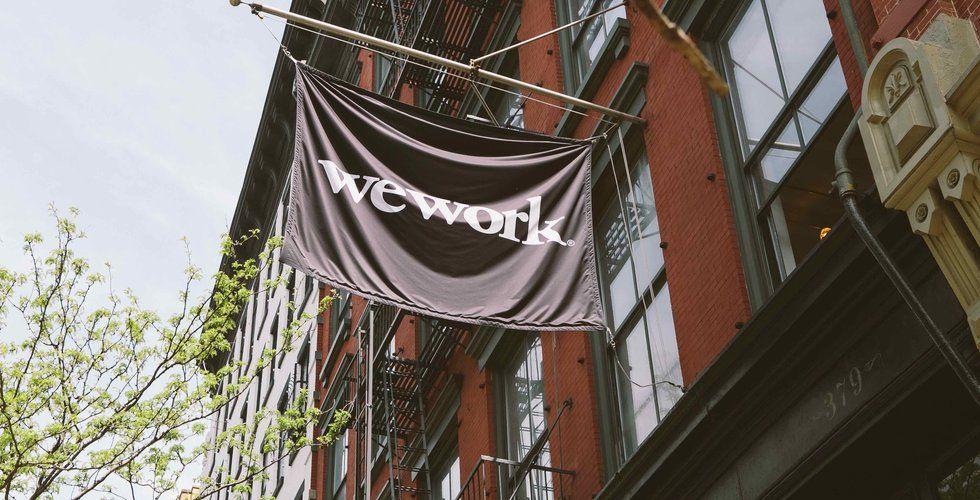 Wework öppnar kontorshotell i Stockholm