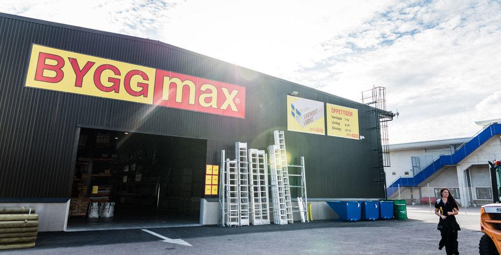Byggmax ökar omsättning – skippar utdelning