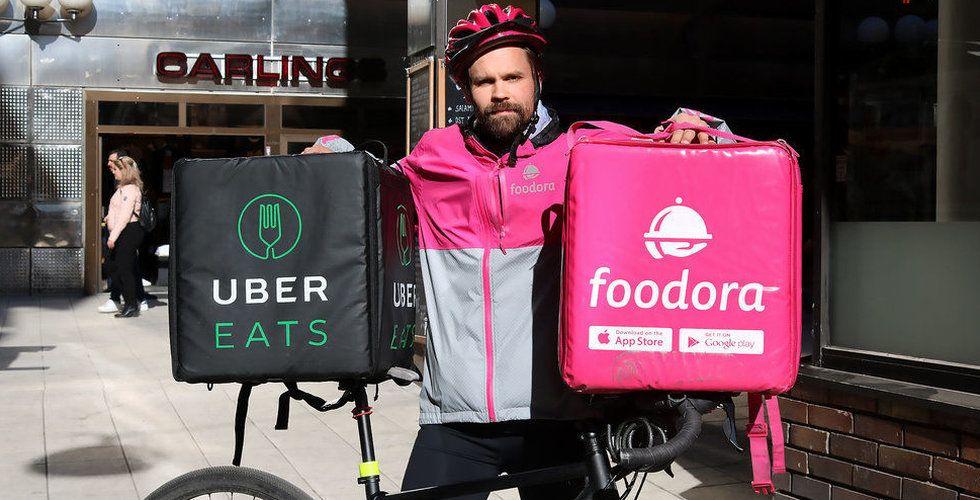 """Uber Eats backar – igen: """"Vi ska förbättra oss"""""""