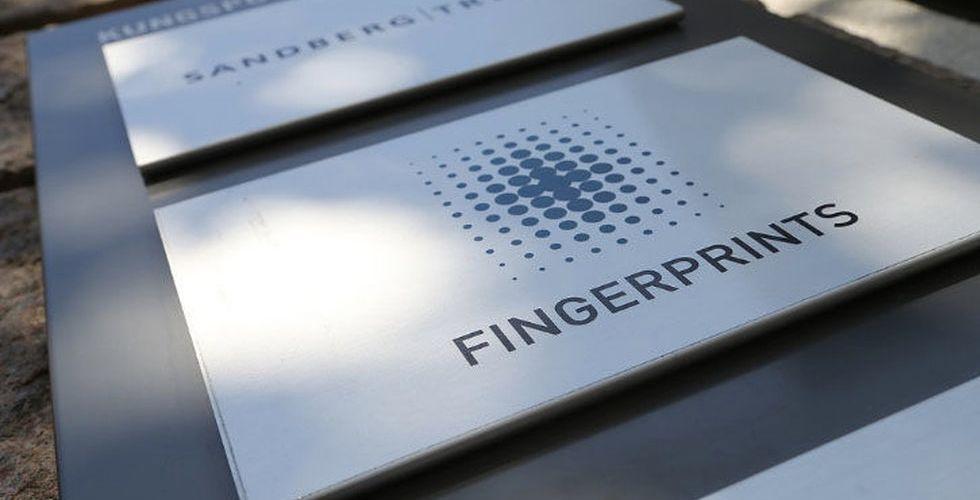 JUST NU: Svag börsreaktion efter Fingerprints vd-bomb