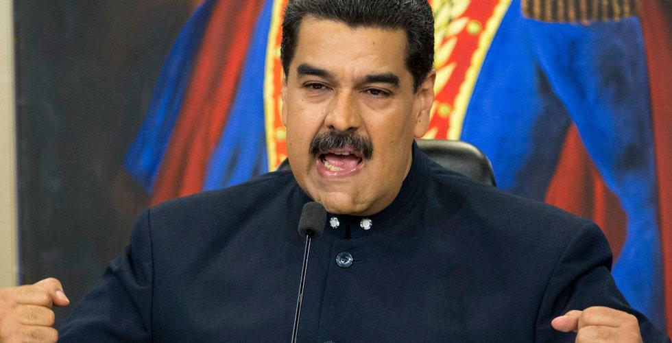 Breakit - Venezuela satsar på egen kryptovaluta – ska knäcka amerikanska blockaden