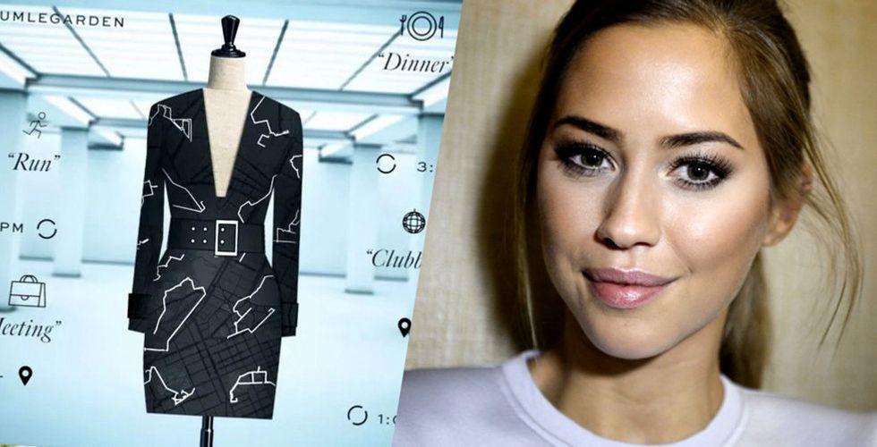 """Kenzas """"Google-klänning"""" blev en världsnyhet – varför blev det knäpptyst?"""