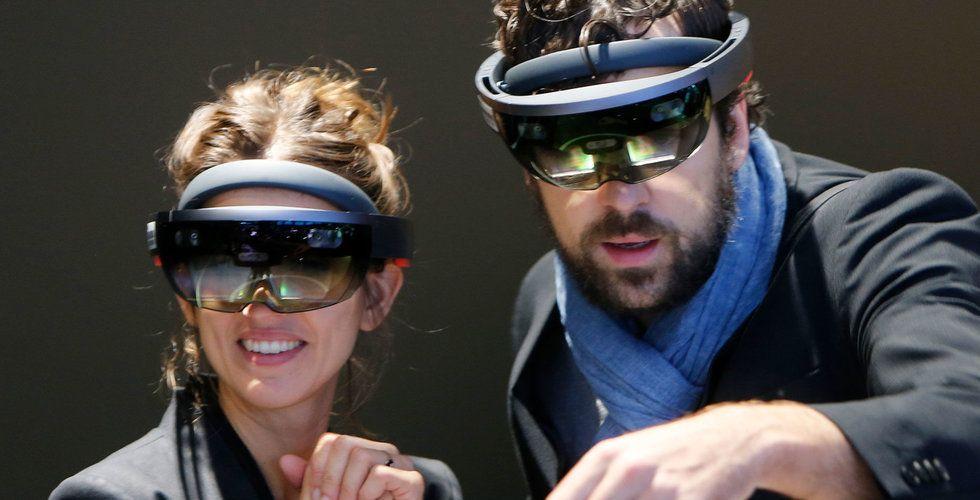 Microsoft stäms för patentintrång för sitt headset Hololens