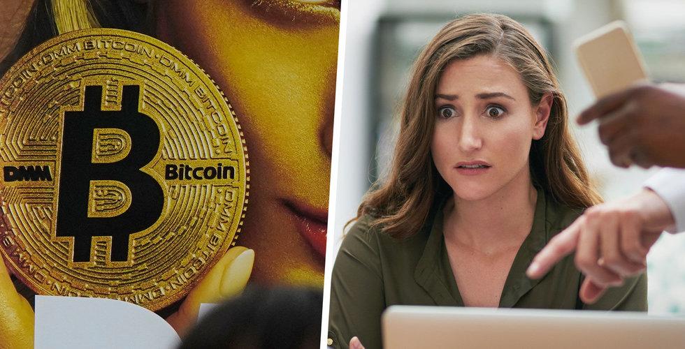 Bitcoin-rallyt kom av sig – därför föll kursen plötsligt