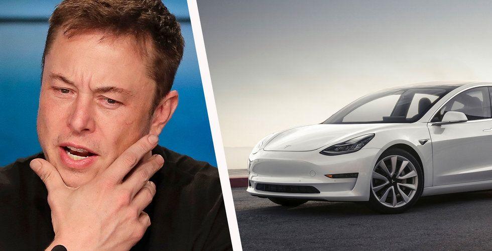 Kinas tullar på USA-varor dåliga nyheter för Tesla